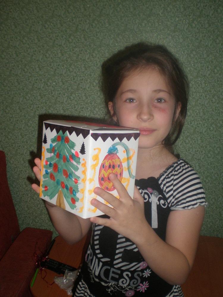 Шкатулка своими руками из коробки под конфет фото 677