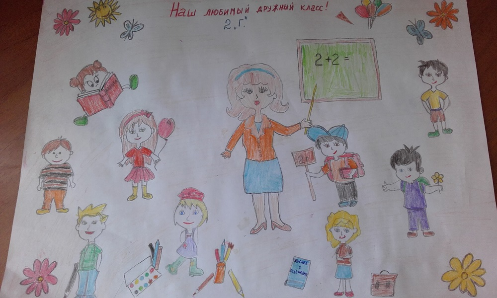 Рисунок мой класс 7 класс
