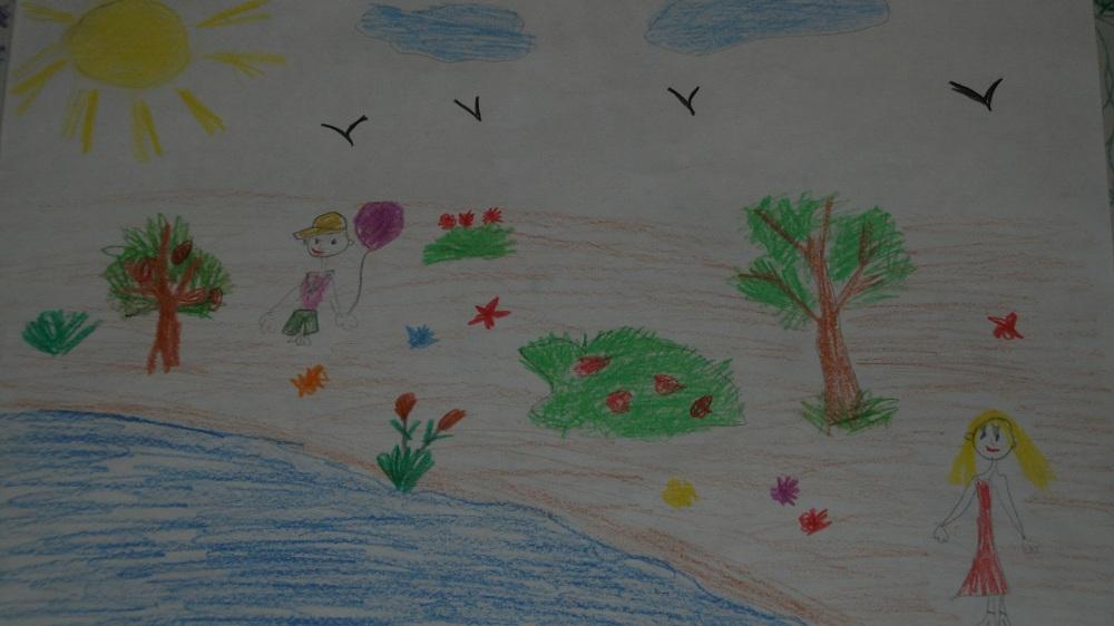 Сценарий праздника с консом рисунков на асфальте «Лето