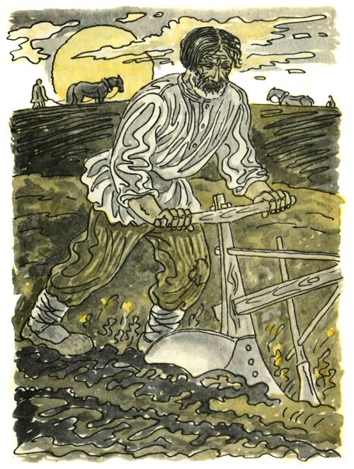 Иллюстрации к белорусским народным сказкам легкий хлеб
