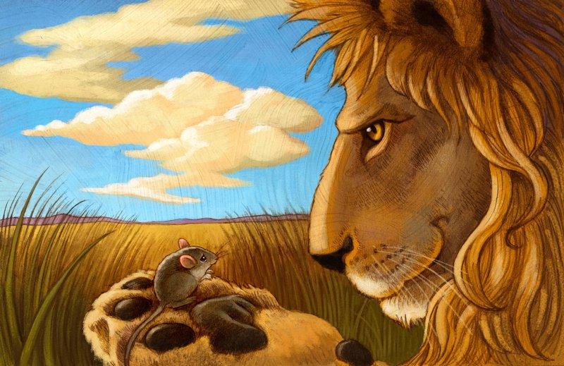 мультики как ловить львов