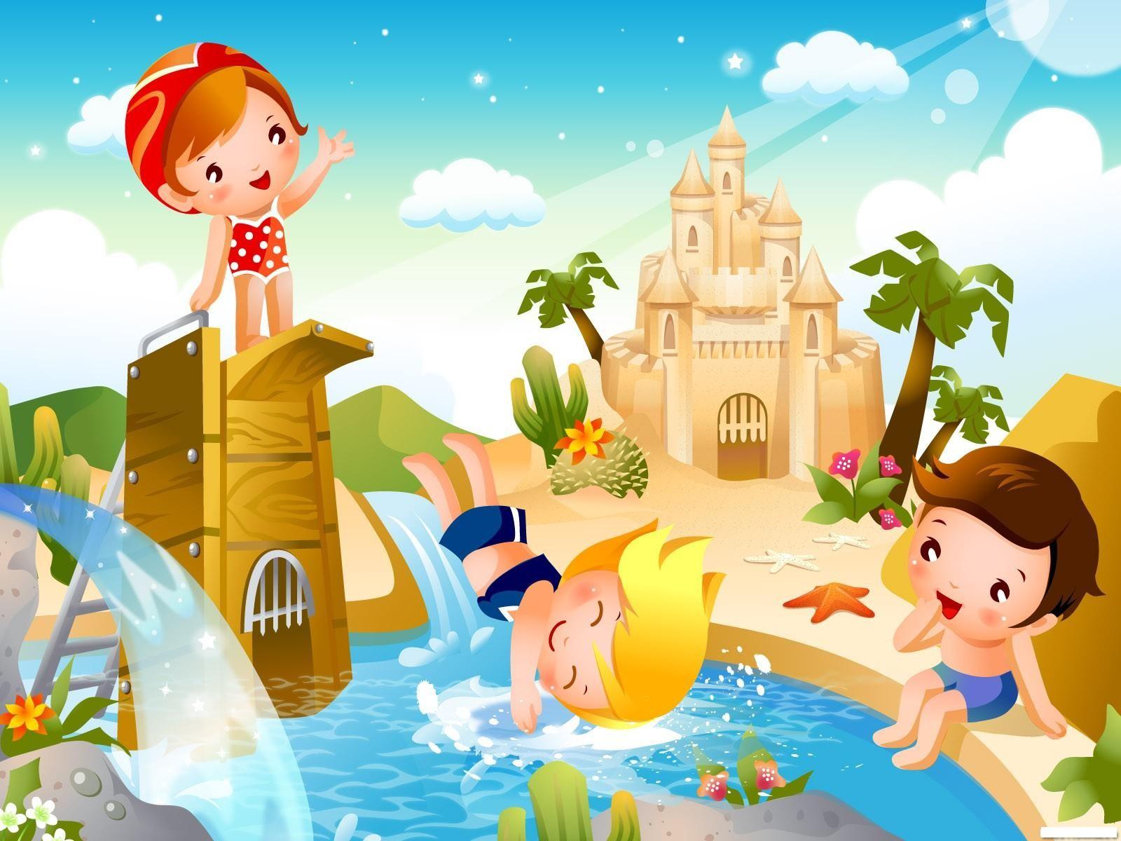 Хорошие новогодние, картинки для детей отдыхать