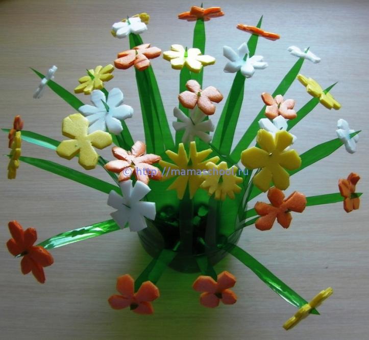 Цветок для мамы своими руками фото