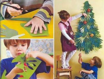 Новогодние поделки для родителей своими руками