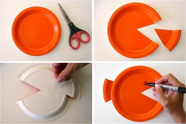 Поделки своими руками из одноразовых тарелок