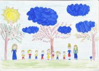 Картинки для срисовки наш дружный класс