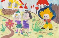 рисунки незнайки и его друзей в солнечном городе дебют