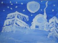 Снежные поделки к новому году в мамадыше