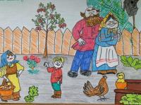 Конкурс рисунков «Бабушка любимая моя»
