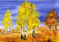 Картинки про золотую осень 2классов
