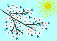 Изо детсад картинки рисунки о весне